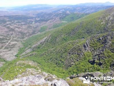 Senderismo Segovia - Macizo de la Buitrera; rutas excursiones